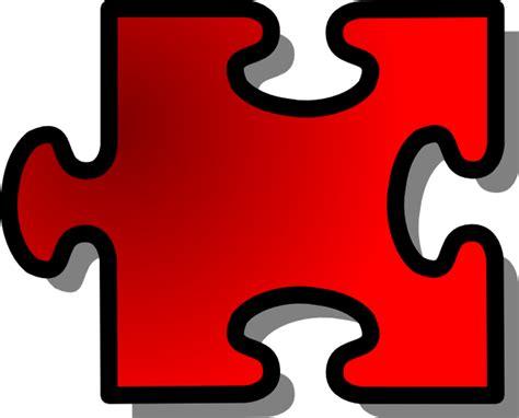jigsaw puzzle piece clip art free vector 4vector
