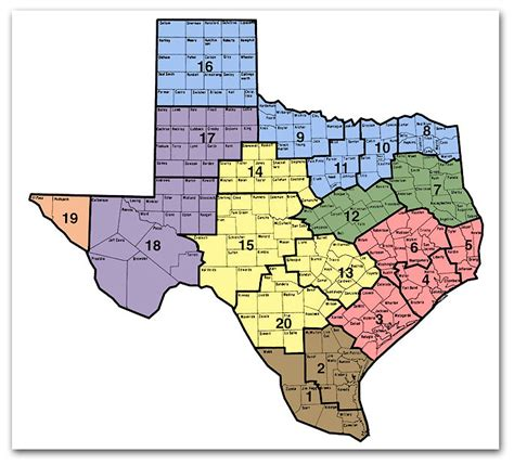 district map of texas district map texas state genealogical society