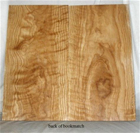 curly white oak bookmatched curly crotch white oak thin lumber 5 16 quot inlay box wood 050909