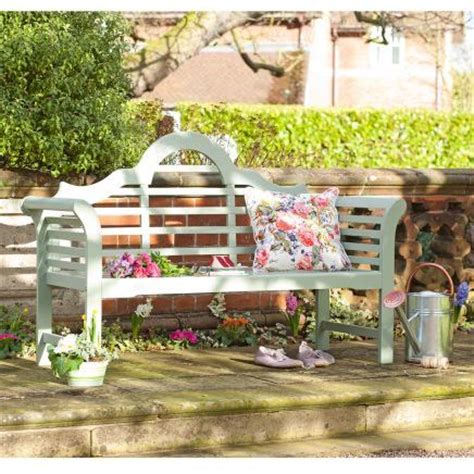 painted wooden garden bench notcutts green painted lutyens bench 150cm notcutts