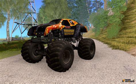 maximum destruction monster truck videos maximum destruction monster truck for gta san andreas