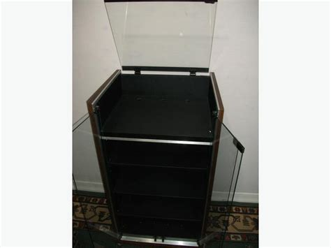 stereo cabinet with turntable shelf audio rack stereo cabinet vintage glass top turntable