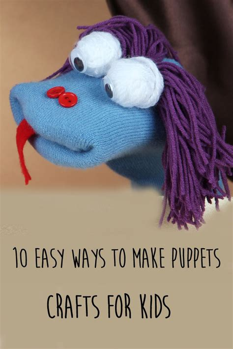 How To Make Handmade Puppets - 25 best ideas about sock puppets on puppets
