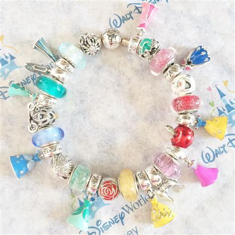 disney princess charms pandora disney princess pandora bracelet