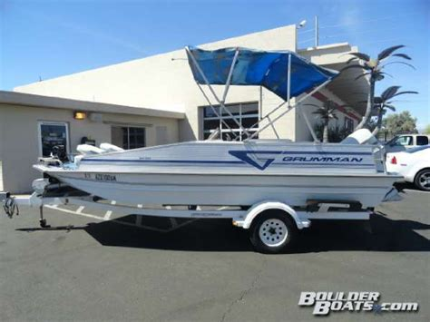 used grumman fishing boats for sale 1993 used grumman g19sd freshwater fishing boat for sale