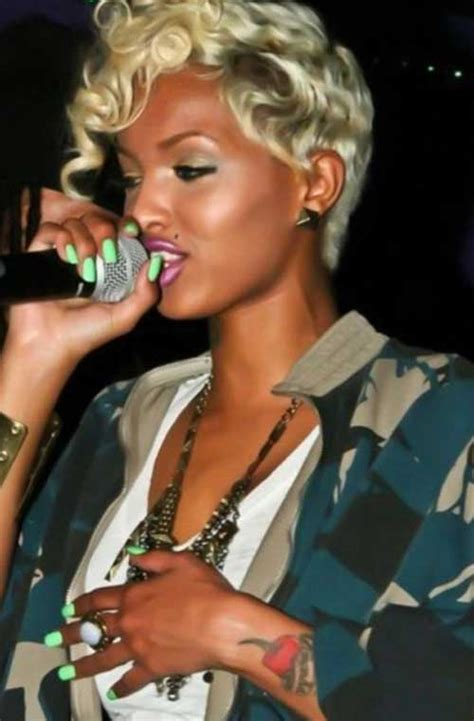 really short haircuts with black on bottom blonde on top latest short haircuts for black women short hairstyles