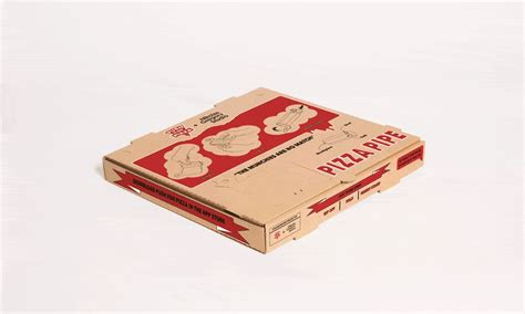 Origami Pizza Box - push for pizza s pizza box pipe cool material