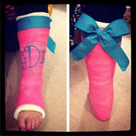 Decorate Your Cast by Decorate Your Cast Boot Or Crutches On