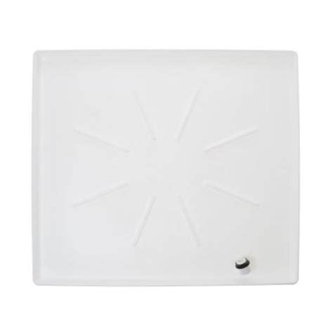 Washer Floor Tray by Ge Low Profile Washer Tray In White Pm7x2ds The Home Depot