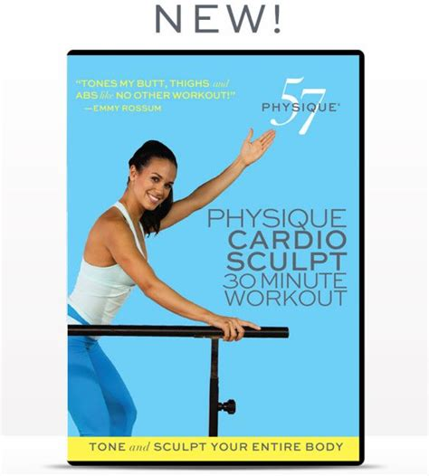 new physique57 barre dvd physique cardio sculpt at