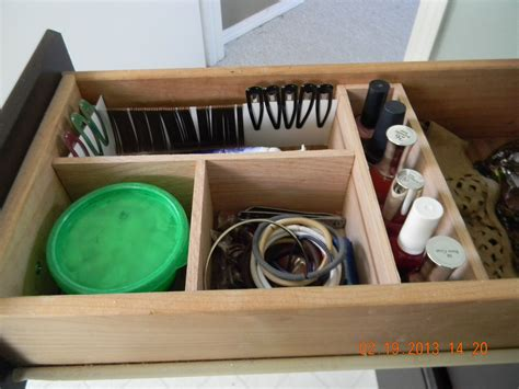 Make Your Own Drawer Organizer by Diy Make A Drawer Organizer For Less Than 5