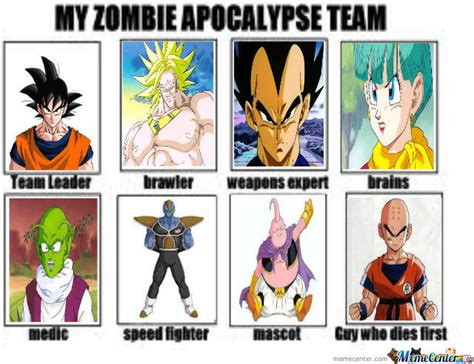 My Zombie Apocalypse Team Meme Creator - my zombie apocalypse team by thor1964 meme center