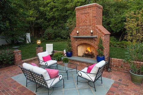 backyard brick fireplace outdoor brick fireplace pics fireplaces