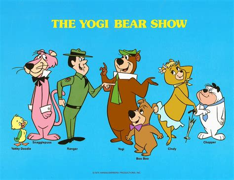 yakky doodle name change cartoonatics quot the yogi show quot 50th anniversary