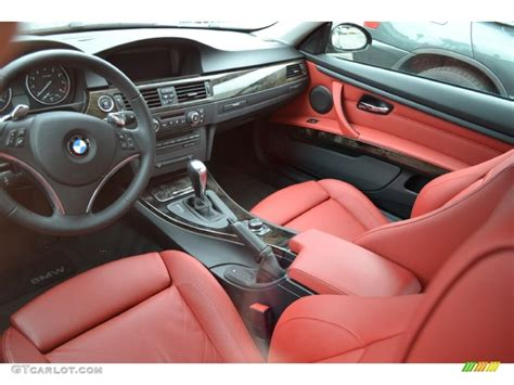 bmw red interior bmw coupe red leather interior images