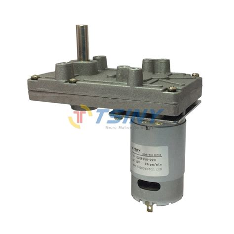 dc 12v 13rpm 35kg cm metal electric pmdc gearbox motor