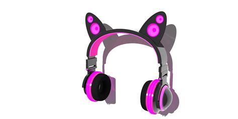 Headphone Neko neko headphones fan render by buaine on deviantart