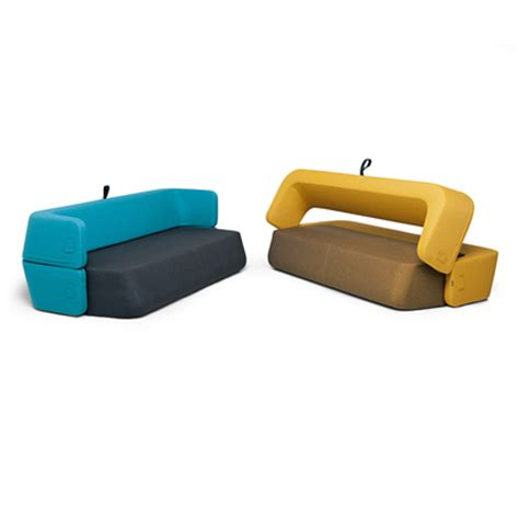 couch bed combo most convincing sofa bed combo kvadra design revolve sofa the future of furniture