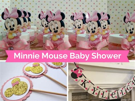 Free Baby Shower Decorations Ideas by Minnie Mouse Baby Shower Decorations And Favors