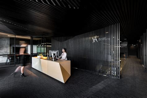 Office Desk Black Gallery Of Hillam Office Hillam Architects 4