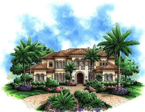florida luxury house plans florida mediterranean house plan 60479