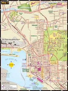 maps update 14882105 san diego tourist attractions map