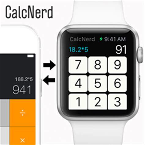 calculator on apple watch calcnerd the missing calculator app unveiled for apple watch