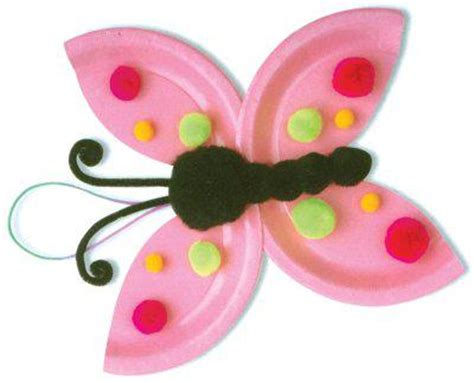 Butterfly Paper Plate Craft - 10 butterfly crafts for
