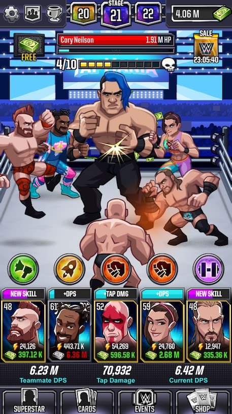 wwe card game mod apk wwe tap mania hack mod apk cheats