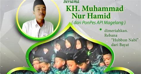 download mp3 ceramah kh imron jamil pengajian akbar di gunung gajah bayat download mp3