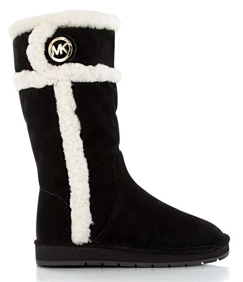 michael kors snow boots new michael kors black suede winter boots ii