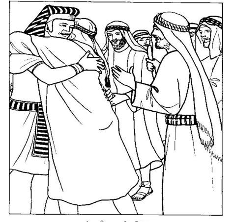 coloring pages joseph and his brothers best photos of joseph and his brothers coloring page