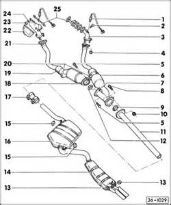 Audi A4 Exhaust System Diagram B5 To B4 Exhaust System Swapableness Interchangeability
