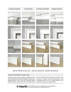 Mdf Cornice Mouldings Four Historically Accurate Molding Styles Compared Side