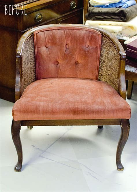 how to take back off recliner tufted cane chair tutorial how to take it apart the