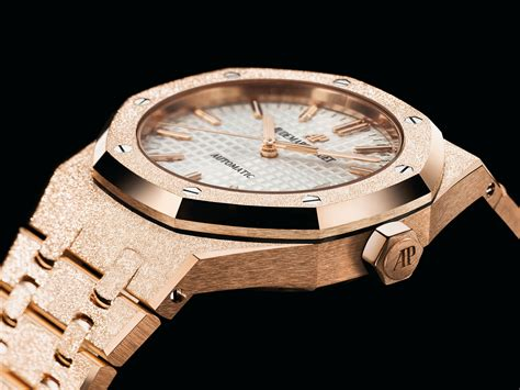 Introducing the Audemars Piguet Royal Oak Frosted Gold for Ladies   SJX Watches