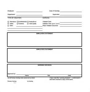 sle employee write up form 7 documents in pdf