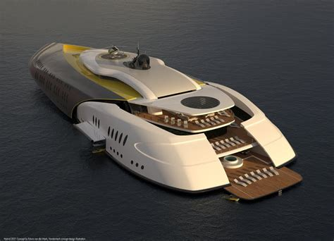 Mini Movers Concepts megayacht global into the future the superyacht sub