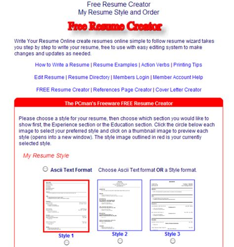 Create Professional Resume by 10 Free Tools To Create Professional Resume