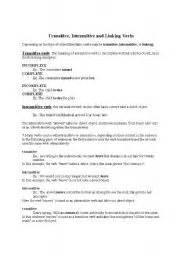 transitive verb worksheets for grade 5 transitive and