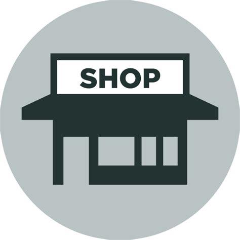 werkstatt symbol retail store icon free icons