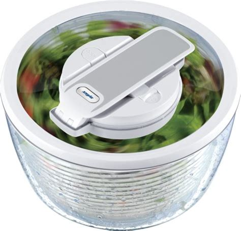 Zyliss Kitchen by Zyliss Smart Touch Salad Spinner Review