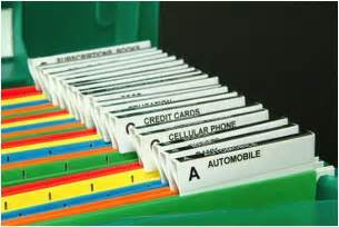 setting up a small business filing system organization