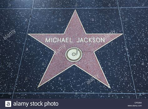 Michael Jackson, Star, Hollywood Walk of Fame, Hollywood ... Hollywood Walk Of Fame Stars Michael Jackson