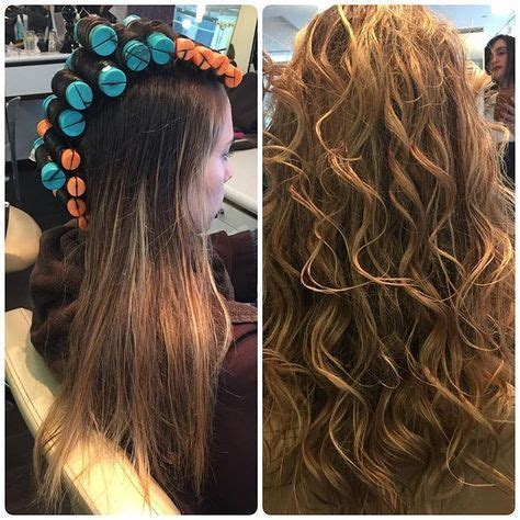 how to curl beach waves on short layered hair our client is summer ready with this beautiful beachy