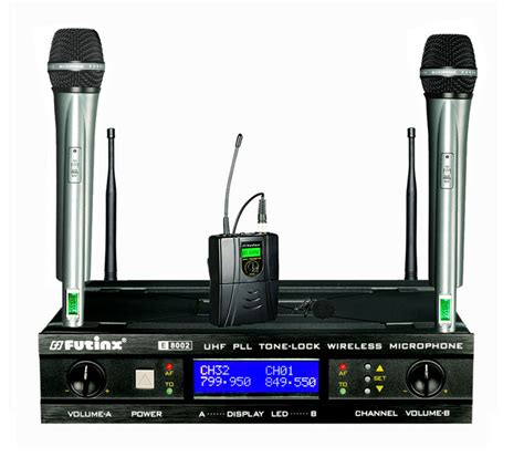 Mic Wireless Conference Hy 8002 wireless microphone e 8002