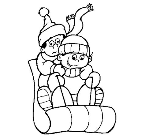 coloring page one horse open sleigh one horse open sleigh coloring sheet preschool coloring pages