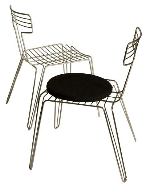 metal chair cushions wire chair metal seat cushion steel by tom dixon
