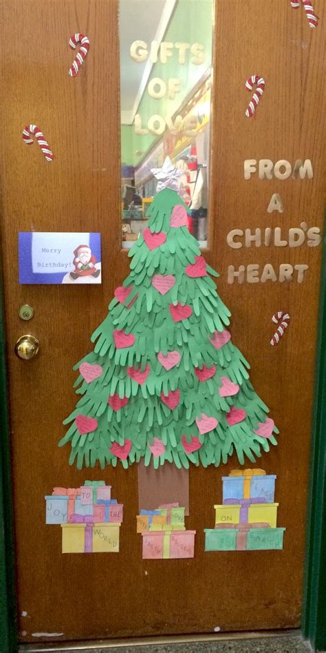 christmas decoration for kindergarden 2013 door decorating contest