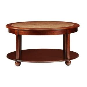 Coffee Table Home Depot Home Decorators Collection 36 In W Essex Suffolk Cherry Coffee Table 1049200120 The